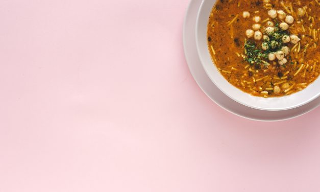 How to make spicy Moroccan chickpea soup with easy cheesy beer bread