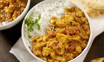 How to make smoky chicken tikka curry with chargrilled poppadoms