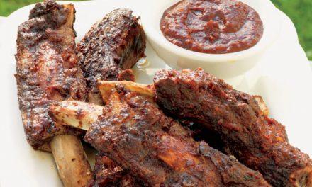 How to make beef ribs with barbacoa sauce