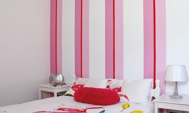 How to paint stripes