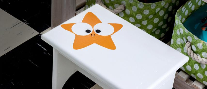 How to make a kids stool