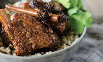 How to make sticky star anise beef short ribs