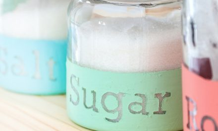 How to add character to kitchen jars