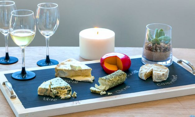 How to make a custom-make a cheese platter with chalk paint