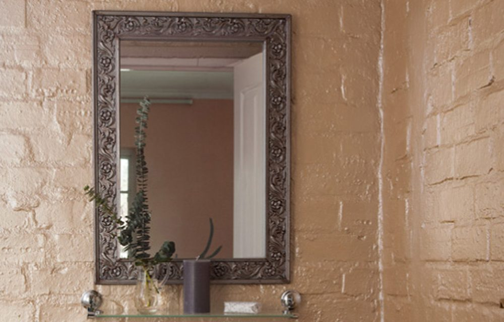 How to make an antique-look mirror frame from cornicing