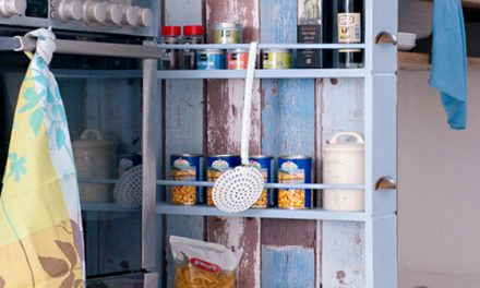 How to make a space-saving spice rack