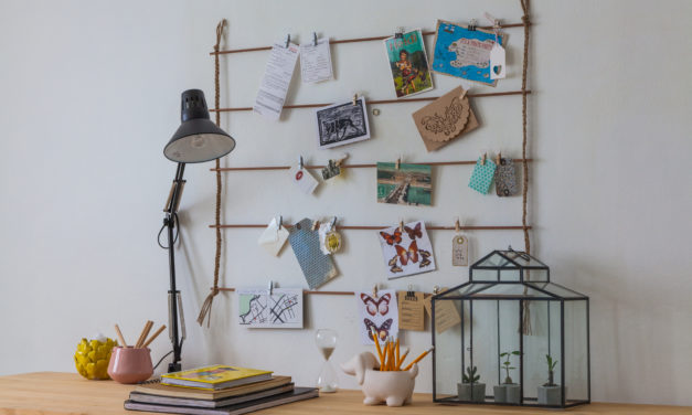 How to make a simple noticeboard