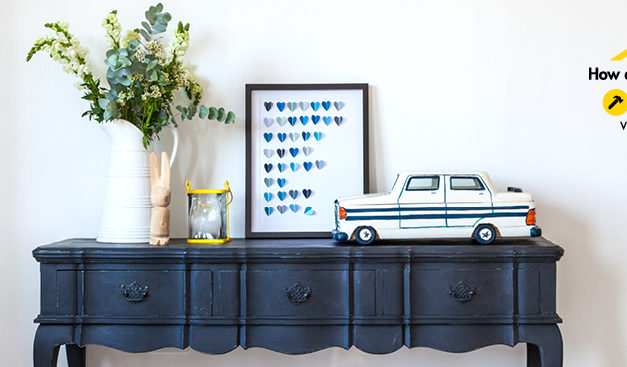 How to get the two-colour distressed look with chalk paint