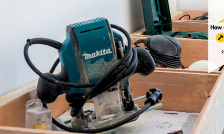 How to make a power tool storage unit out of old drawers