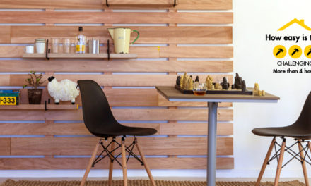 How to clad your walls with wood