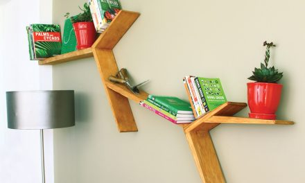 How to make a shelf inspired by nature