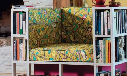 How to build a library chair