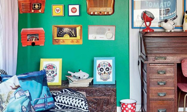 How to create colourful, cheerful spaces