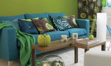 How to use bright colours in your interior