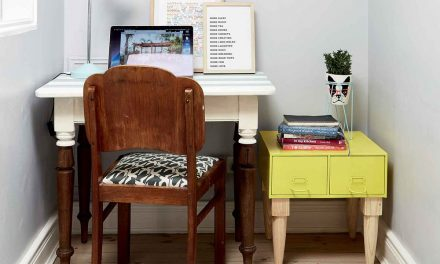 How to revamp the desks in your office with paint