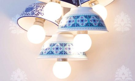 How to make ceramic drill bowl lights