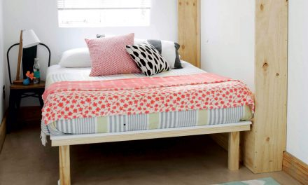 How to make a foldaway bed