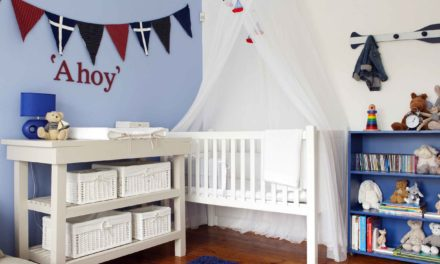 How to create a nautical nursery
