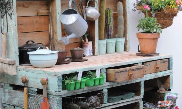 How to make your own potting table
