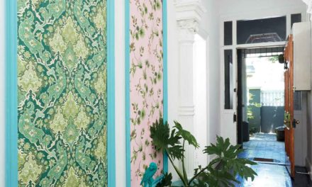 How to make decorative wall panels for your entrance