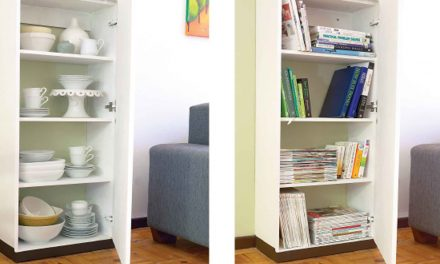 How to create a column storage space
