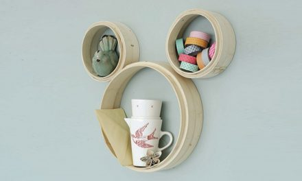 How to build Mickey Mouse shelves