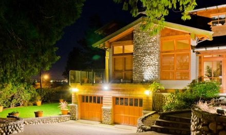 How to set up outdoor lighting for beauty and security