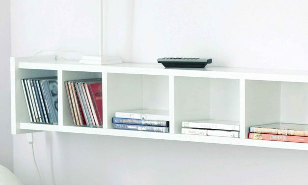 How to construct a CD storage rack