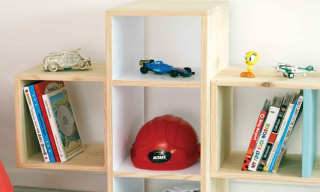 How to make a quirky storybook storage unit