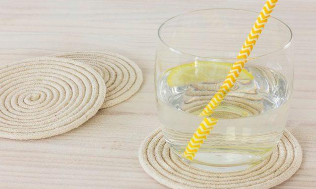 How to make rope coasters