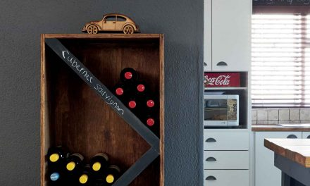 How to make a wine rack for the connoisseur