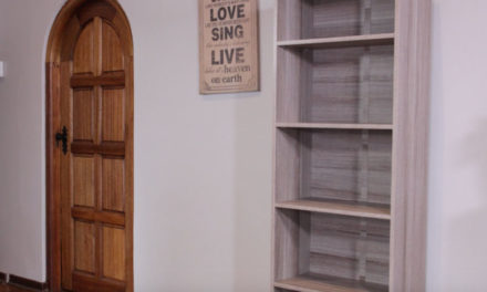 How to assemble a 1800 x 600mm bookcase