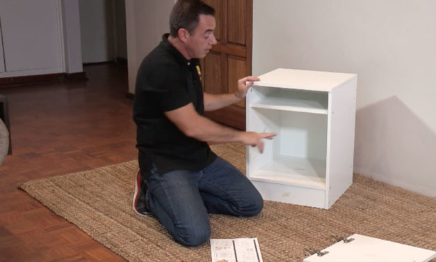 How to install a Bedroom Pedestal Flat Pack