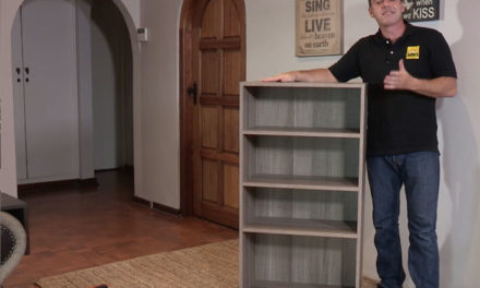 How to assemble the HK Cuba bookcase flat pack
