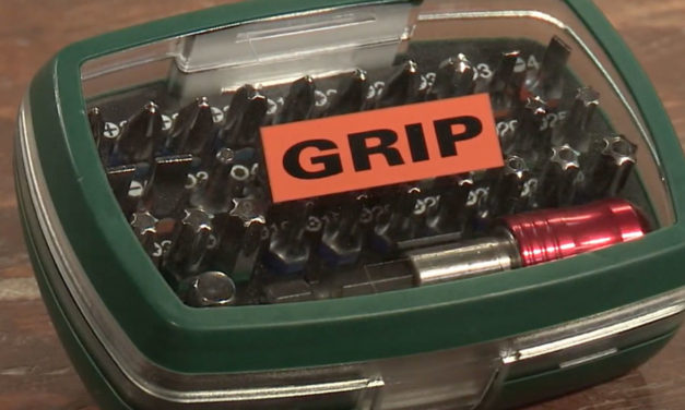 How to use the Grip Colour Screwdriver Bit Set