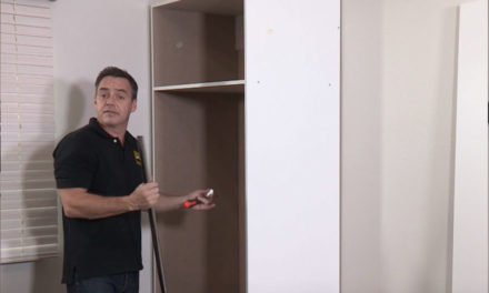 How to assemble a standard wardrobe flat pack