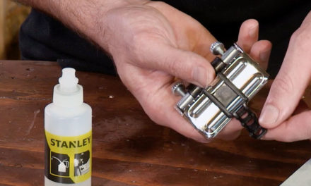 How to use the Stanley Honing Guide Oil Stone and Oil Set