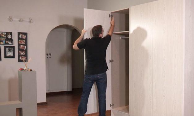 How to assemble 3 door wardrobe flat pack