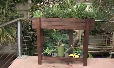 How to make a balcony planter