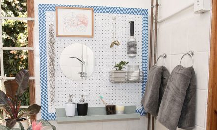 How to make a basin pegboard
