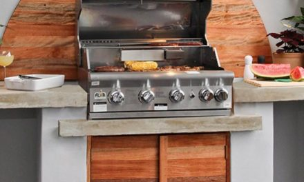 How to install a built in braai