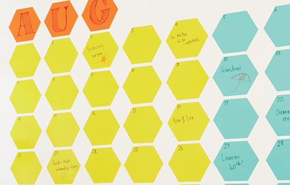 How to make a home office calendar
