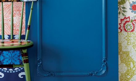 How to do decorative panelling on a door