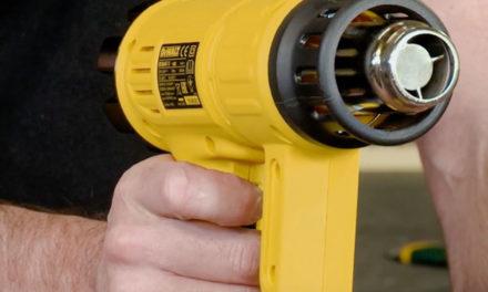 Product Review: Dewalt Heat Gun