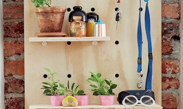 How to make a pegboard