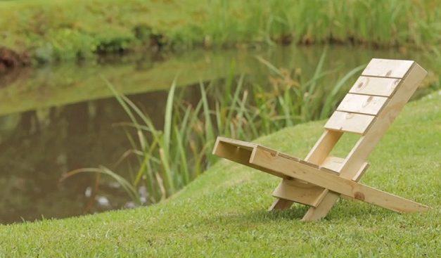Make a portable camping chair