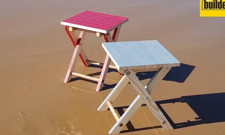 How to make a portable chair and table