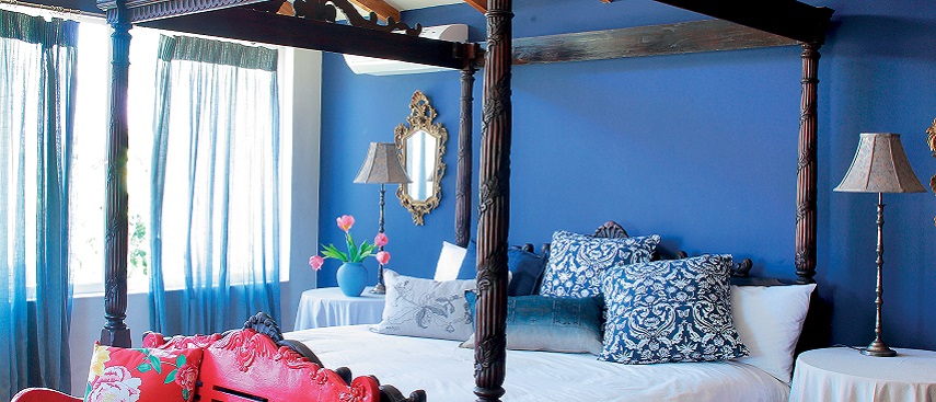 How to paint interiors with cool blues