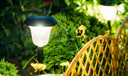 How to install a garden light