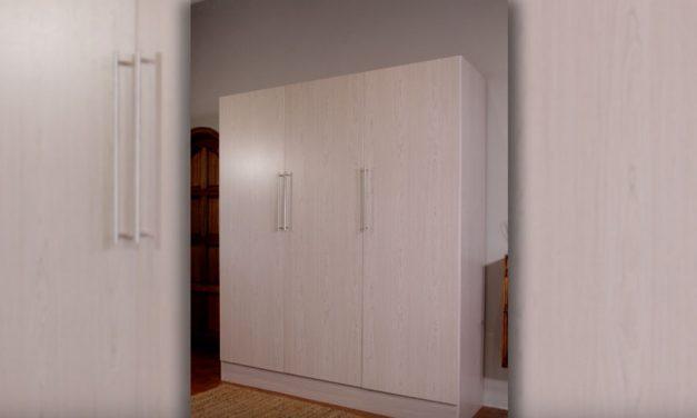 How to assemble the Builders Pride 3 Door Wardrobe